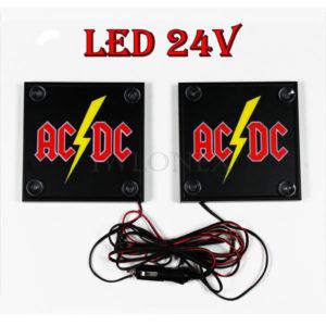 ACDC 1 glowne 300x300 - 1 Paar LKW LED Leuchtschilder 24V