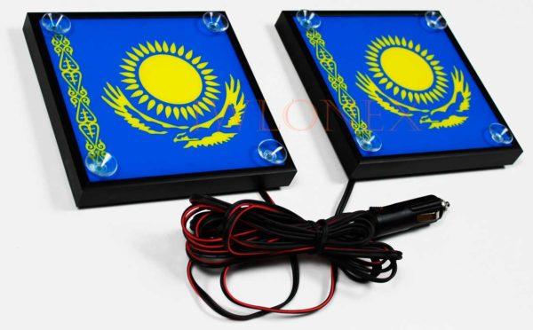 kazachstan 2 600x372 - 1 Paar LKW LED Leuchtschilder 24V Kazakhstan