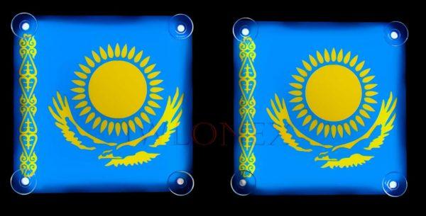 kazachstan 3 600x305 - 1 Paar LKW LED Leuchtschilder 24V Kazakhstan