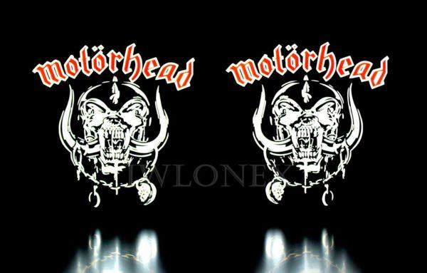 motorhead 3 600x383 - 1 Paar LKW LED Leuchtschilder 24V Motörhead