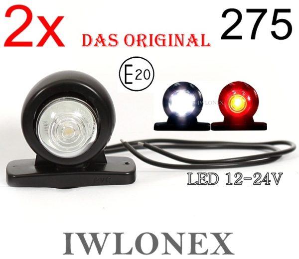 275 4 1 600x520 - 2x LED 12V 24V ABE BEGRENZUNGSLEUCHTE 275