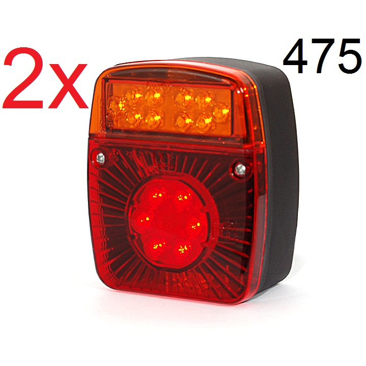 4756 21 - 2x LED RÜCKLICHT SCHLUSSLEUCHTEN 475