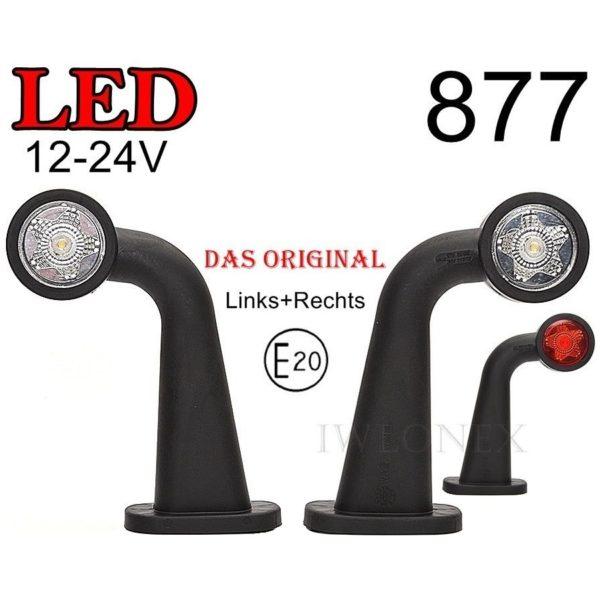 877 1 GLOWNE 600x600 - 2x LED 12V 24V ABE BEGRENZUNGSLEUCHTE 877