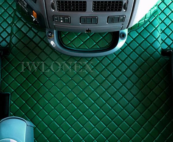 DAF105 ZIELONY 5 600x493 - Tunnel passend für DAF XF106 E6 Automatik Dunkelbraun 460 u. 510PS