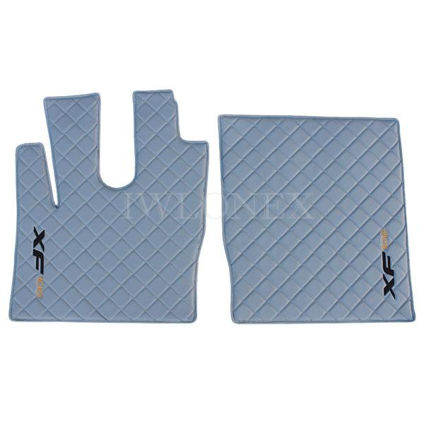 Fußmatten für DAF XF 106 Automatik Grau Links/Rechts