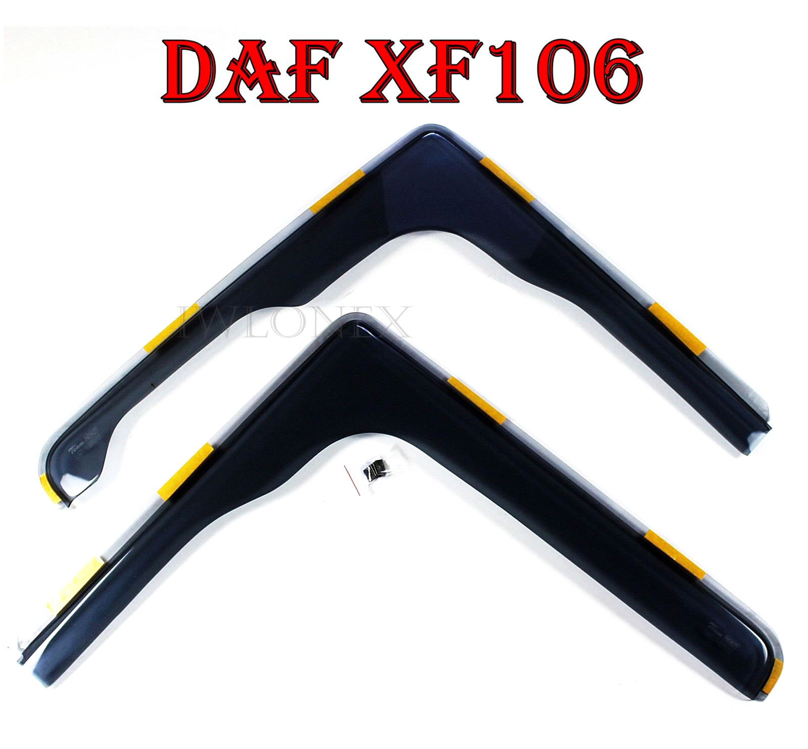 s l1600 5 - 2x FENSTER WINDABWEISER passend für DAF XF Euro6
