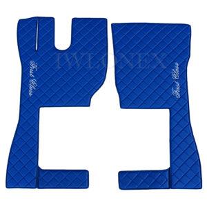 volvo fh4 niebieskie 3ok 300x300 - L/R Fußmatten passend für VOLVO FH4 Automatik Blau