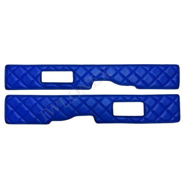 sitzsockelverkleidung 105106 blau 600x600 - 2 x Sitzsockelverkleidung passend für DAF XF106 E6 Blau