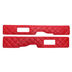 sitzsockelverkleidung 105106 rot 300x300 - 2 x Sitzsockelverkleidung passend für DAF XF106 E6 Rot