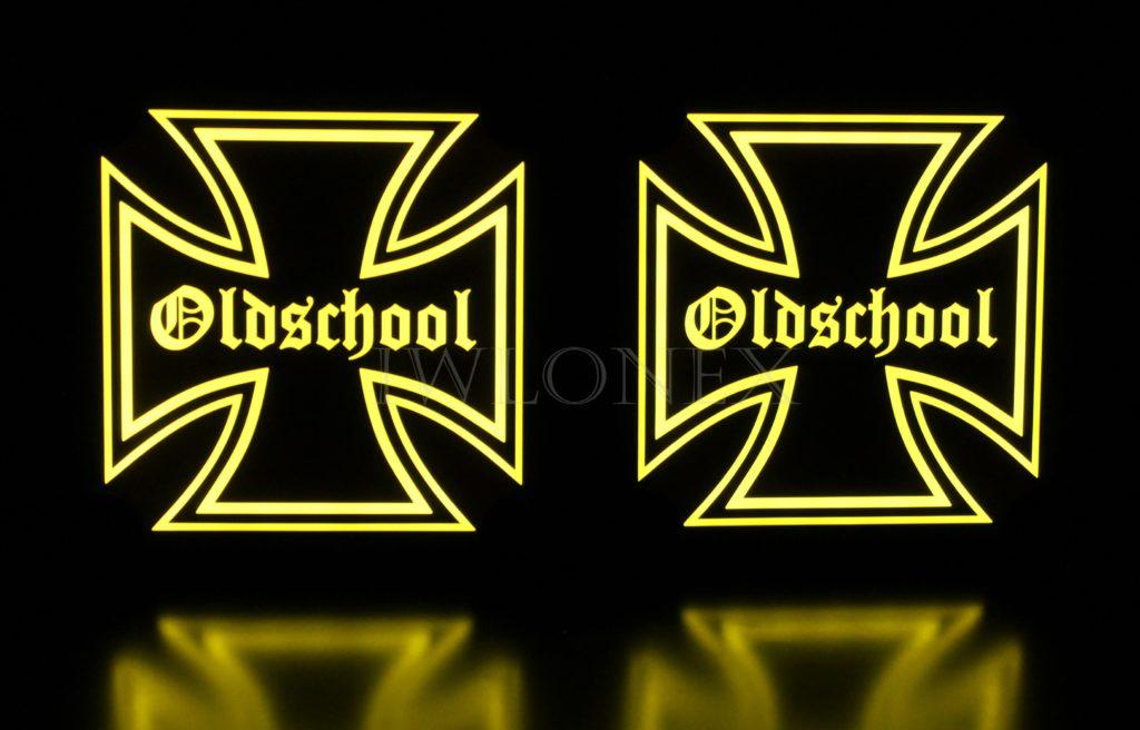 IMG 8681 1024x656 - 1 Paar LKW LED Leuchtschilder 24V Eiserne Kreuz