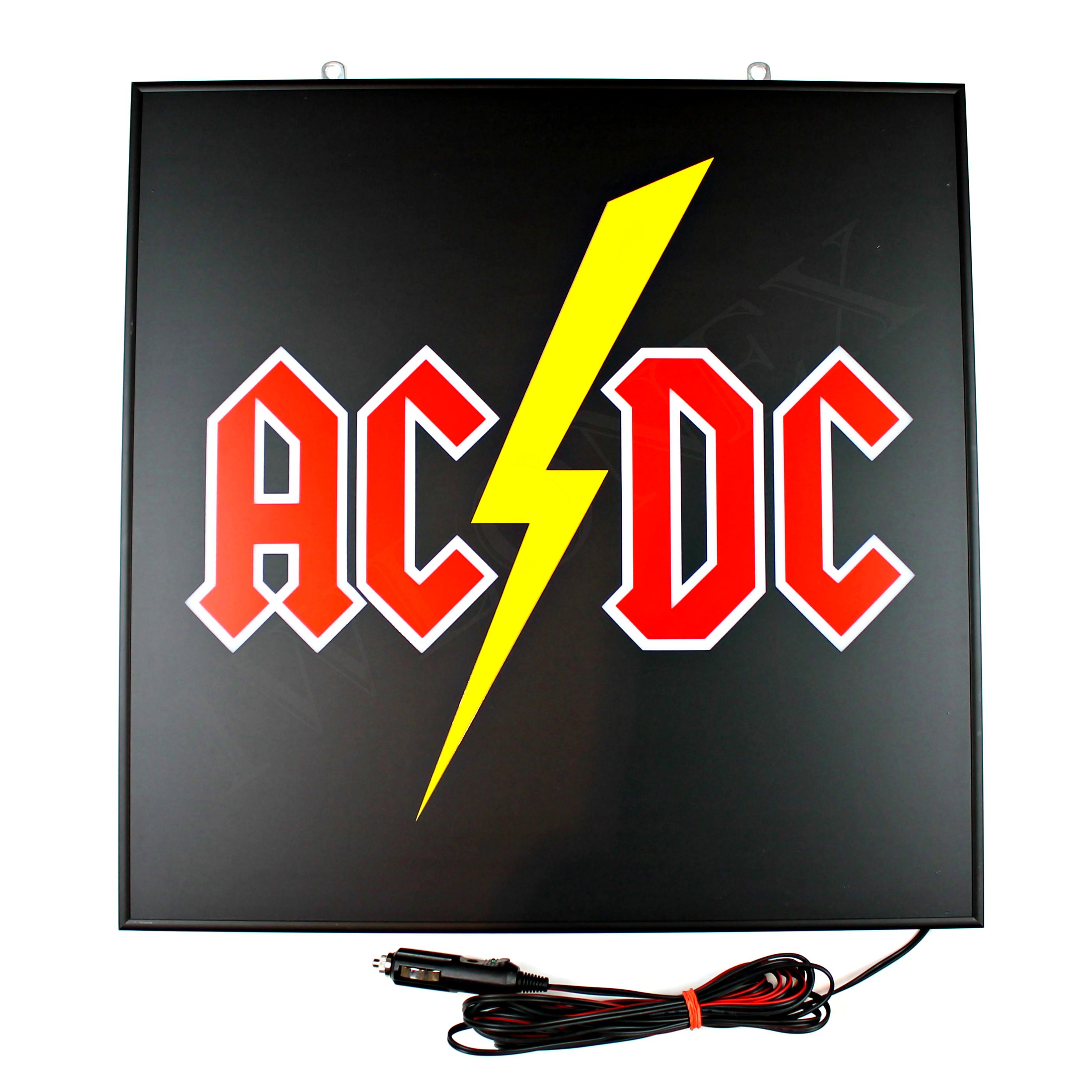 LED Schilder 46x46 ACDC 1 - 1 x LKW LED Rückwandschild mit Dimmer, 24V AC/DC