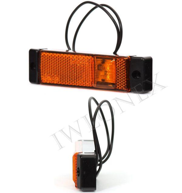 220iwlonex1 600x638 - 1x LED UMRISSLEUCHTE SEITENMARKIERUNGSLEUCHTE 220