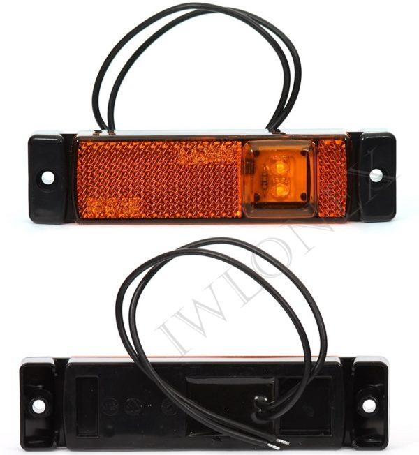 220iwlonex2 600x652 - 1x LED UMRISSLEUCHTE SEITENMARKIERUNGSLEUCHTE 220