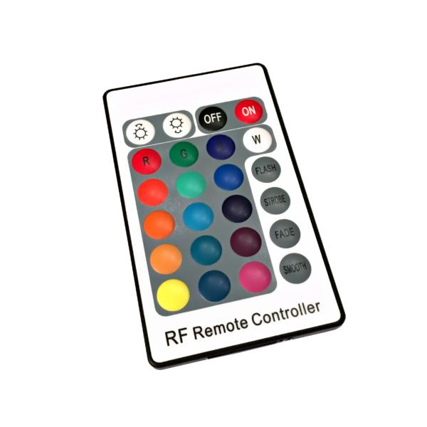 LED RGB REMOTE iwlonex 600x600 - 1 x LKW LED RGB Rückwandschild Eiserne Kreuz 24V