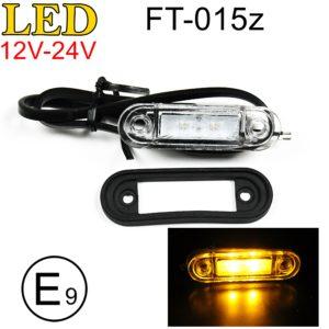 FT 015z 300x300 - 1x LED Umrissleuchte Seitenmarkierungsleuchte Positionsleuchte FT-015z
