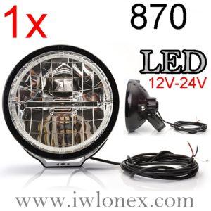 870 iwlonex 300x300 - 1x LED Fernscheinwerfer, Zusatzscheinwerfer mit Positionslicht Nr. 870