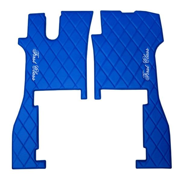 Fussmatten SCANIA R NEW 2017 blau 2 600x600 - Fußmatten für SCANIA R New Generation blau