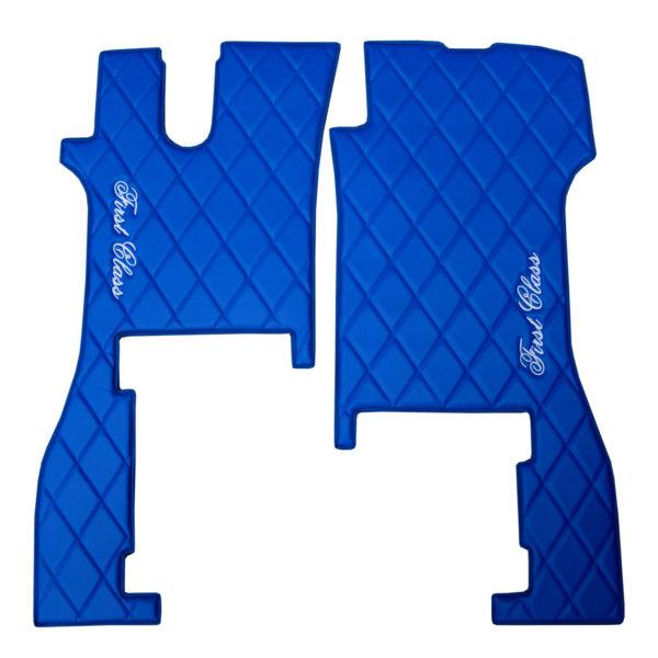 Fussmatten SCANIA R NEW 2017 blau 5 600x600 - Fußmatten für SCANIA R New Generation blau