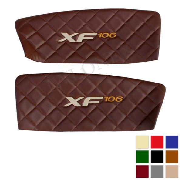 Turverkleidung DAF EURO6 Deine Farben 600x600 - Türverkleidung passend für DAF XF EURO6 Links/Rechts - deine Farben u. Stickerei