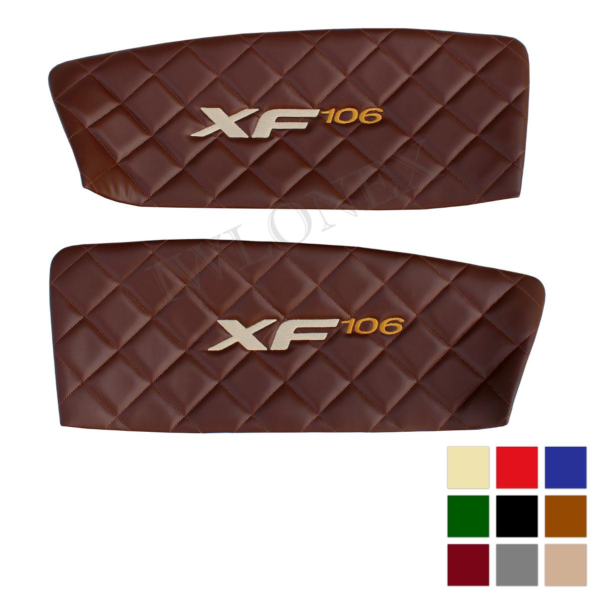 Turverkleidung DAF EURO6 Deine Farben - Türverkleidung passend für DAF XF EURO6 Links/Rechts - deine Farben u. Stickerei
