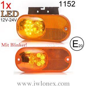 1152 iwlonex 300x300 - 1x LED SEITENMARKIERUNGSLEUCHTE MIT BLINKER! 1152