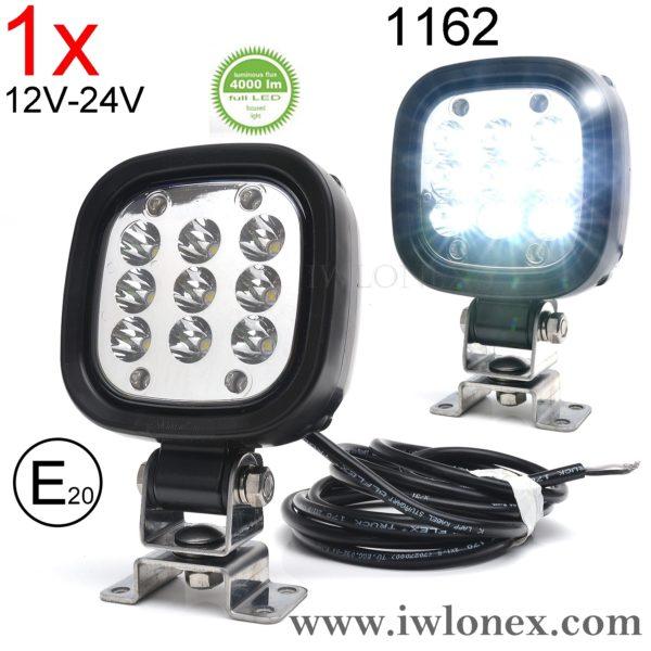 1162 iwlonex 600x600 - LED POWER ARBEITSSCHEINWERFER 4000Lm! Nr. 1162