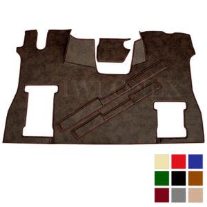 Fussmatte Sitzsockelverkleidung SCANIA S Kunstleder deine Farben IWLONEX 300x300 - Fußmatte für SCANIA S + Sitzsockelverkleidung - deine Farben