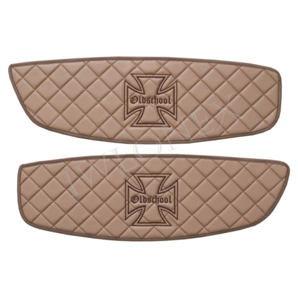 LKW Turverkleidung passend fur MAN TGX cappuccino Eiserne Kreuz iwlonex 600x600 - Türverkleidung passend MAN TGX - Marmor - deine Farben