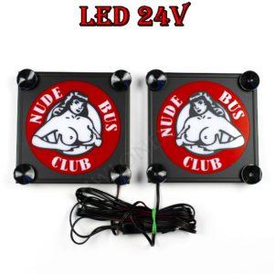 busen iwlonex 300x300 - 1 Paar LKW LED Leuchtschilder 24V für alle Marken
