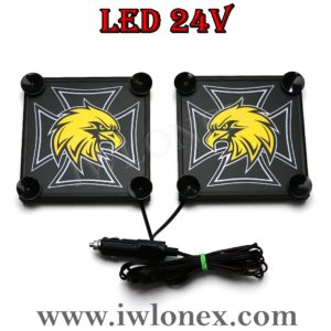 2 300x300 - 1 Paar LKW LED Leuchtschilder 24V SCANIA UNI