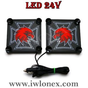 3 300x300 - 1 Paar LKW LED Leuchtschilder 24V SCANIA UNI