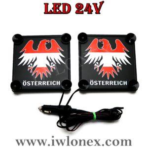 4 300x300 - 1 Paar LKW LED Leuchtschilder 24V AUSTRIA UNIVERSAL