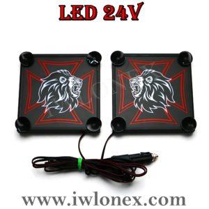 6 300x300 - 1 Paar LKW LED Leuchtschilder 24V MAN UNI