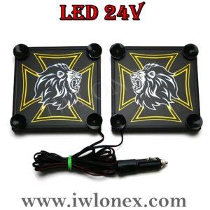 8 300x300 - 1 Paar LKW LED Leuchtschilder 24V MAN UNI
