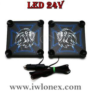9 300x300 - 1 Paar LKW LED Leuchtschilder 24V MAN UNI
