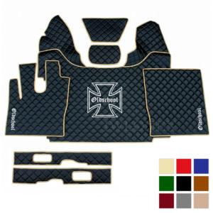 Fussmatten passend fur DAF XF EURO6 Eiserne Kreuz deine Farben IWLONEX 300x300 - Fußmatten+Sitzsockelverkleidung passend für DAF XF EURO6 - deine Farben (Eiserne Kreuz)