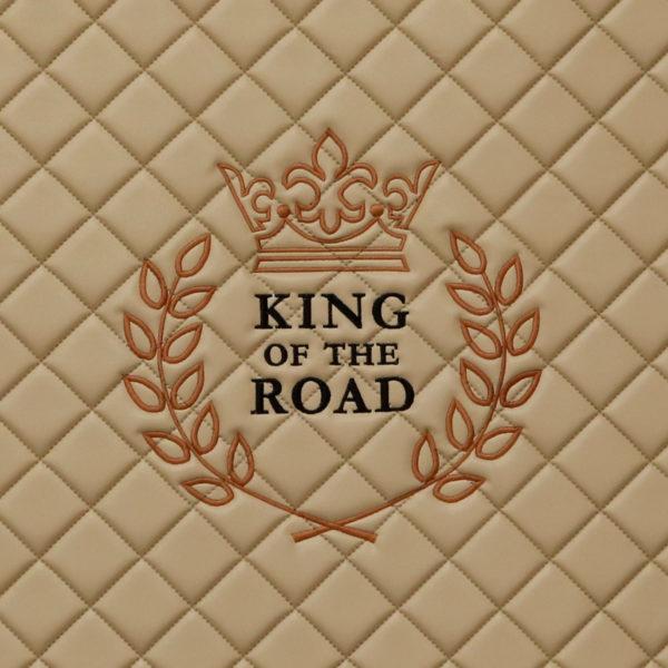 King of the Road 600x600 - Fußmatte passend für SCANIA S - deine Farben