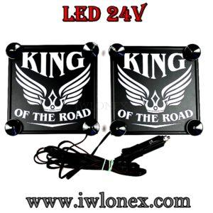 IMG 0640 300x300 - 1 Paar LKW LED Leuchtschilder 24V King UNIVERSAL