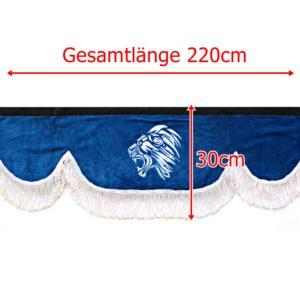 Gardine 220cm30cm 47 300x300 - Frontscheibenbordüre Schall Borde passend für MAN XXL
