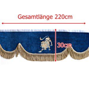 Gardine 220cm30cm iwlonex 1 300x300 - Frontscheibenbordüre Schall Borde passend für MAN XXL