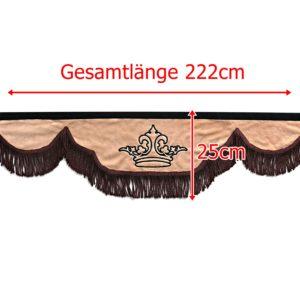 Gardine 222cm25cm iwlonex 1 300x300 - Frontscheibenbordüre Schall Borde - UNIVERSAL