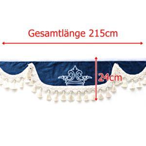 Gardine L 215cm H 24cm iwlonex 300x300 - Frontscheibenbordüre Schall Borde - UNIVERSAL