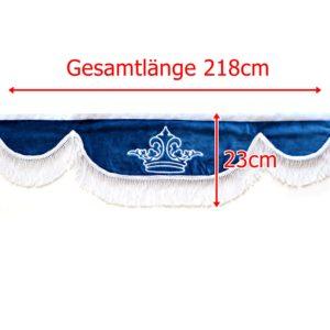 Gardine L 218cm H 23cm iwlonex 300x300 - Frontscheibenbordüre Schall Borde - UNIVERSAL