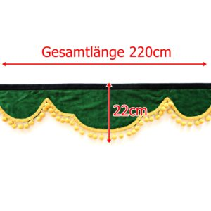 Gardine L 220cm H 22cm iwlonex 1 300x300 - Frontscheibenbordüre Schall Borde - UNIVERSAL