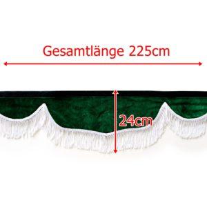 Gardine L 224 H 24cm 1 300x300 - Frontscheibenbordüre Schall Borde - UNIVERSAL