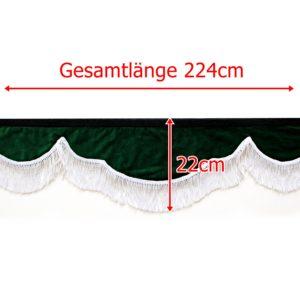 Gardine L 224cm H 22cm 9 300x300 - Frontscheibenbordüre Schall Borde - UNIVERSAL