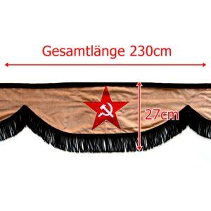 Gardine L 230cm H 27cm 5 300x300 - Frontscheibenbordüre Schall Borde - UNIVERSAL