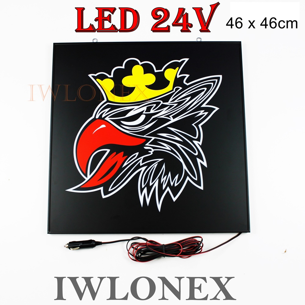 IMG 4053 - 1 x LKW LED Rückwandschild mit Dimmer, 24V SCANIA Svempa
