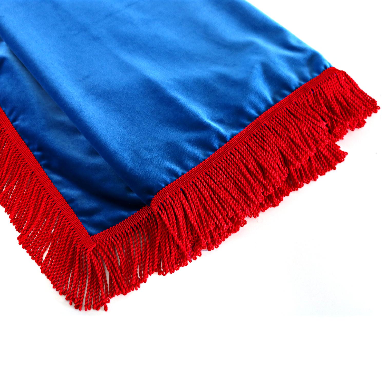 lkw gardinen f r scania topline fahrerhaus blau rot. Black Bedroom Furniture Sets. Home Design Ideas