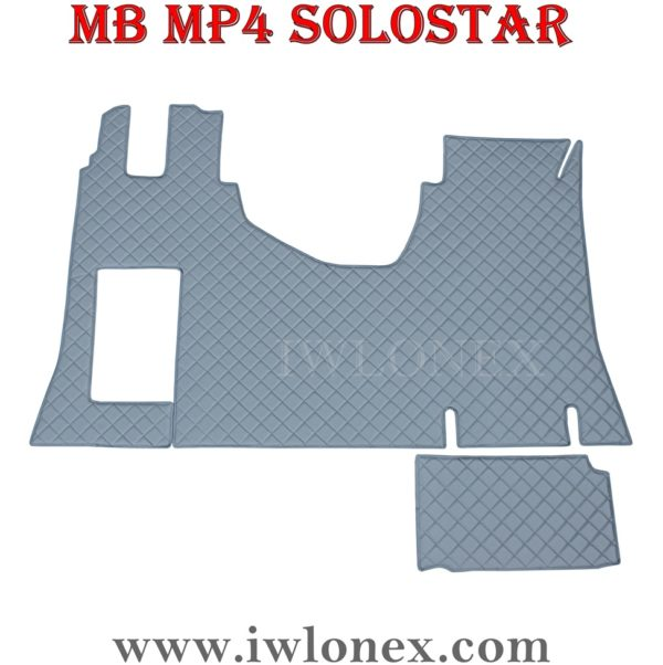 Fussmatten MB MP4 Grau salonka 1 600x602 - Fußmatte passend für MB Actros MP4 SoloStar Grau